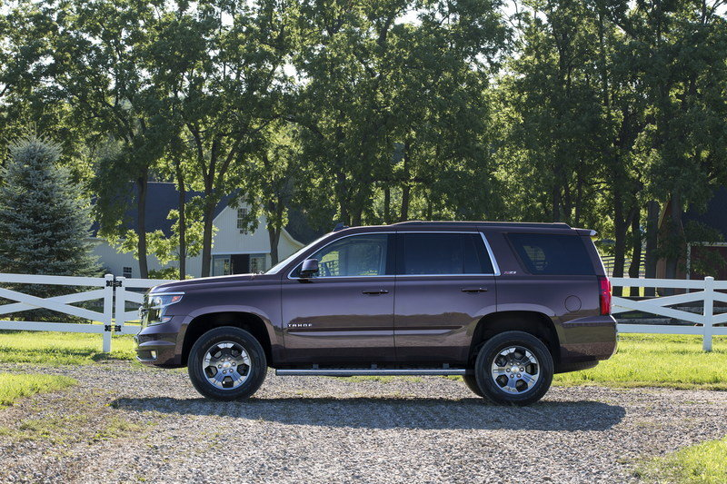 2015 Chevrolet Tahoe Z71 High Resolution Exterior - image 570142
