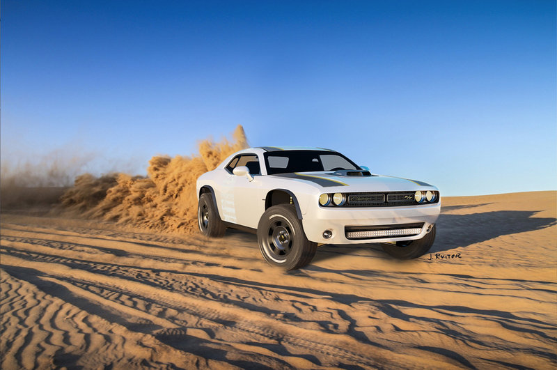 2014 Dodge Challenger A/T Concept High Resolution Exterior Wallpaper quality - image 566629