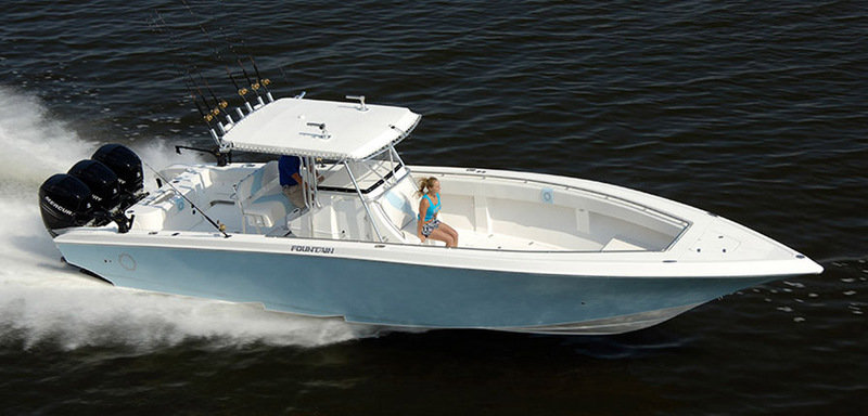 2014 Fountain 38 Sportfish CC Open Bow