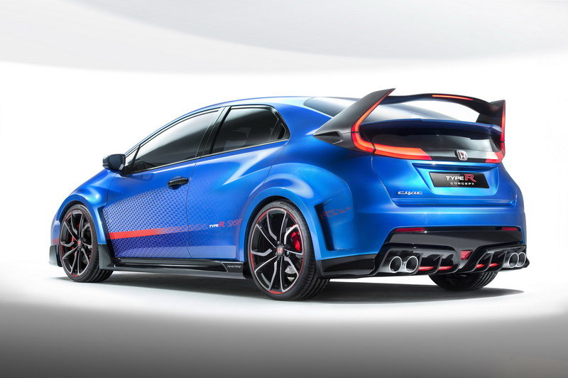 2014 Honda Civic Type R Concept II High Resolution Exterior - image 570352