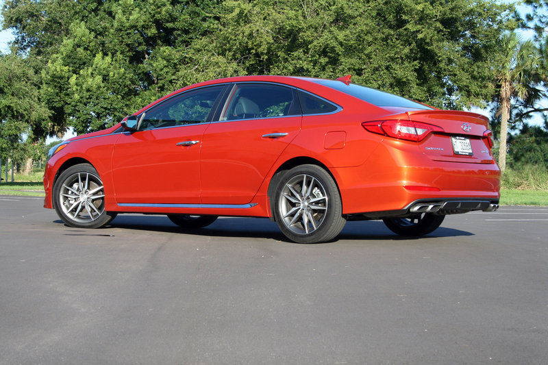 2015 Hyundai Sonata - Drive Notes