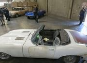 Jaguar E-type stolen 46 years Ago found in a container! - image 569116