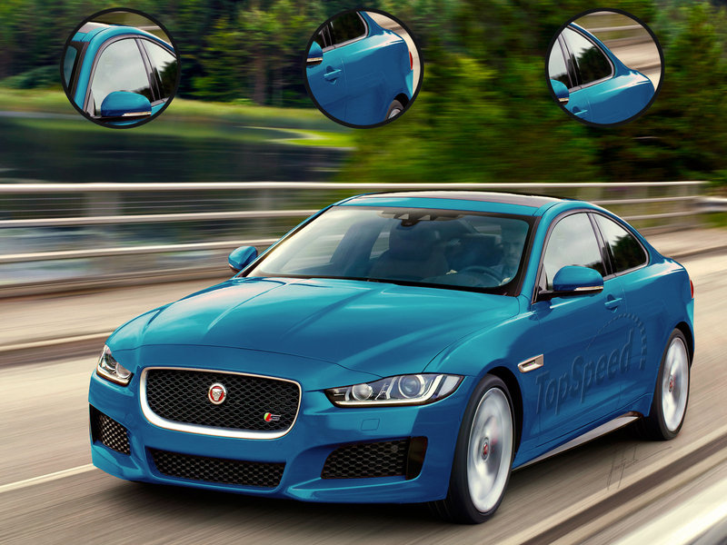 2017 Jaguar XE Coupe Exclusive Renderings - image 568025