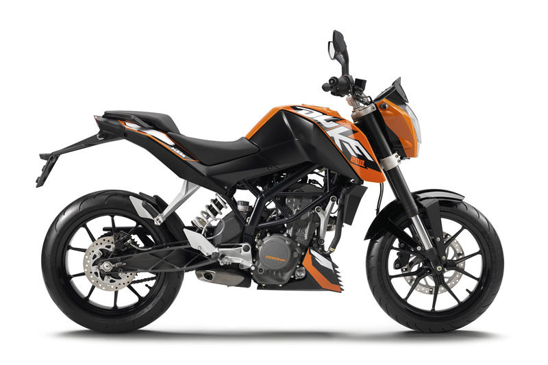 2015 KTM 200 DUKE | Top Speed