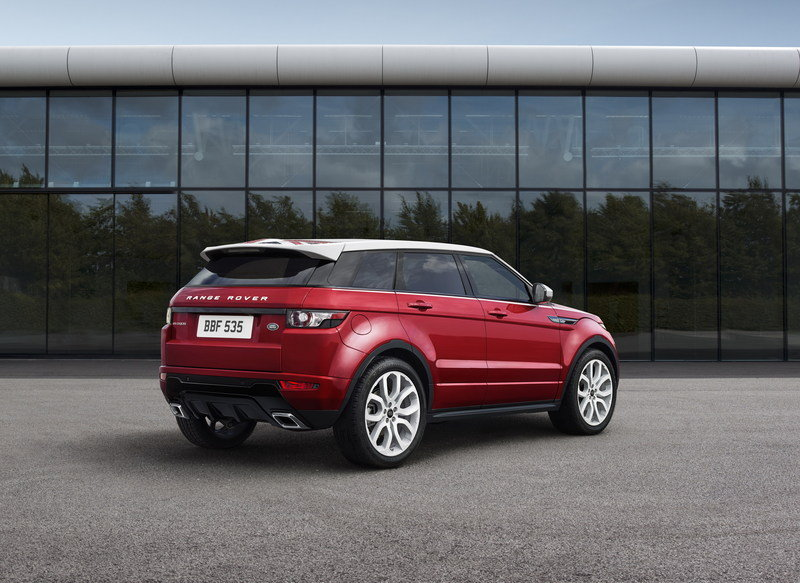 2014 Land Rover Range Rover Evoque SW1 Special Edition High Resolution Exterior - image 569212