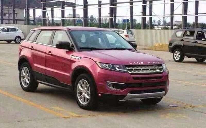 Land wind X7, the fake Range-Rover Evoque from China!