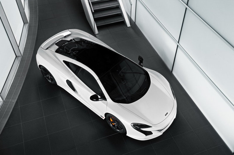 2015 McLaren 650S Pearl White By MSO High Resolution Exterior - image 567273