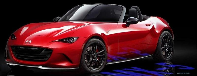 New Mazda MX-5 Rendered By Employee; Would You Like It To Look Like This?