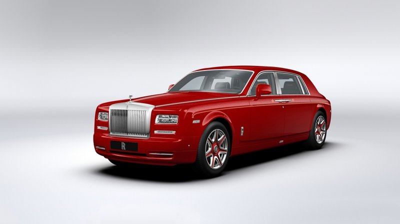 2015 Rolls Royce Phantom Louis XIII Special Edition