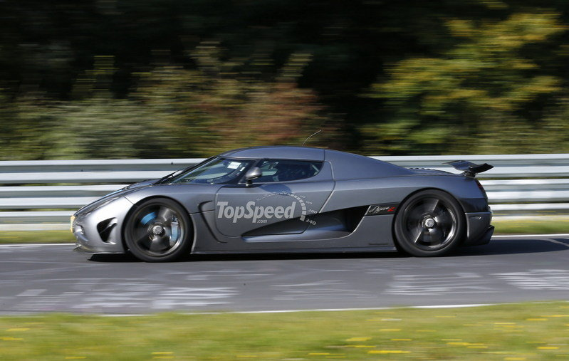 Koenigsegg Agera R Crashes on the Nurburgring Exterior Spyshots - image 567704