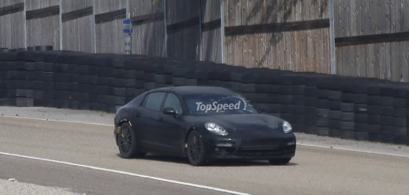 Spy Shots: Next-Generation Porsche Panamera Caught Testing for the First Time
