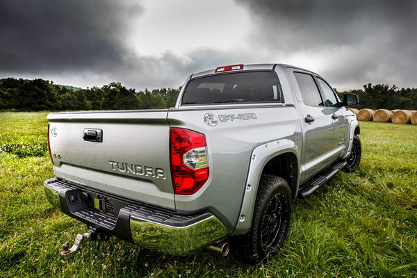 Toyota Tundra Bass Pro Shops Off-Road Edition in detail