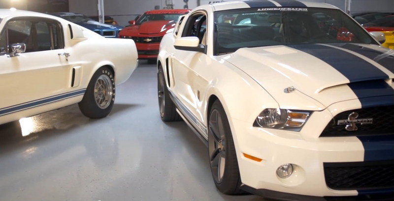 Video: 1967 Shelby GT500 Vs. 2010 Shelby GT500 Patriot Edition