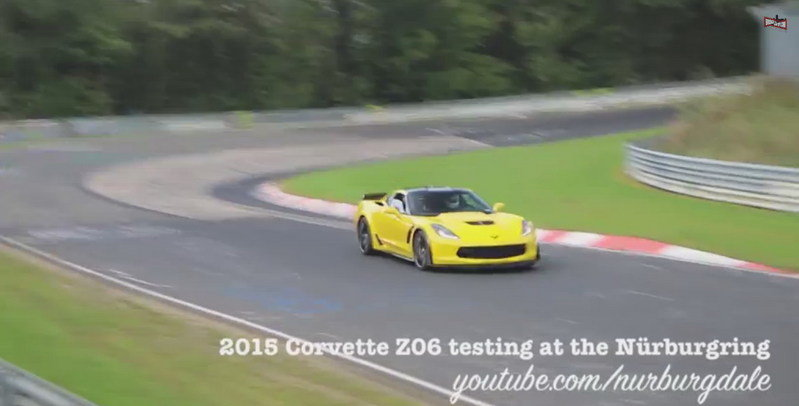 Video: 2015 Chevrolet Corvette Z06 Hits the Nurburgring