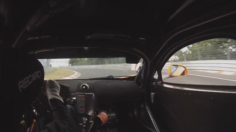 Video: McLaren 12C GT3 Sets Lap Record at the Nurburgring 24 Hours
