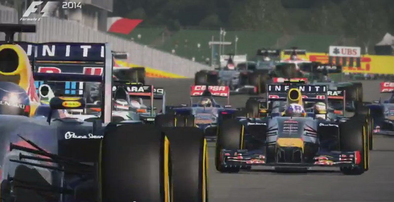 Video: F1 2014 Trailer Released