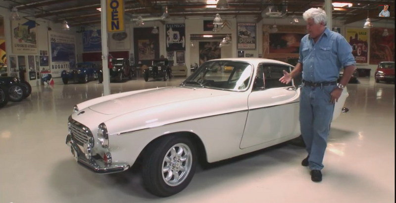 Video: Jay Leno Reviews The 1967 Volvo P1800 From The Saint