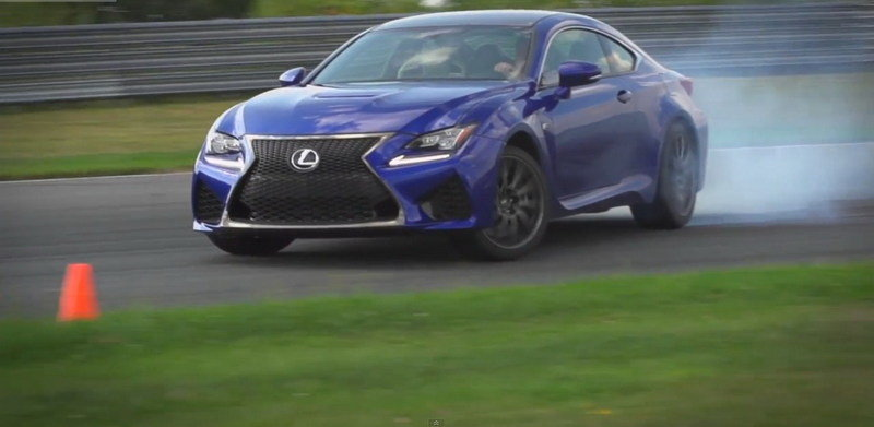 Video: Lexus RC F Gets its Fill on the Road and Track