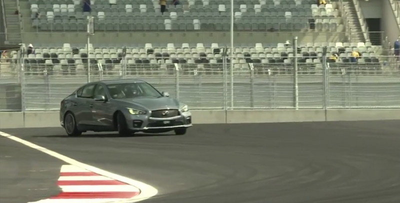 Video: Sebastian Vettel Laps the Sochi Formula One Track