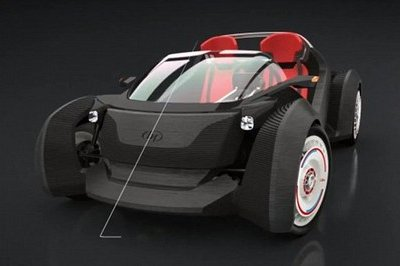 Meet the Local Motors Strati, the world's first 3D-printed car.