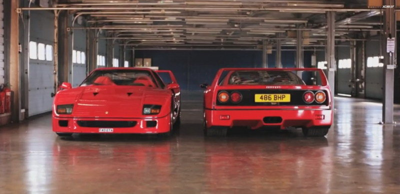 Video: XCar Reviews The Ferrari F40
