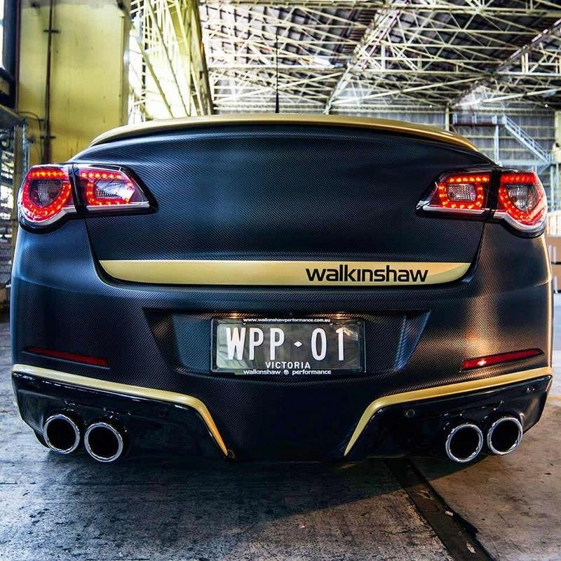 2006 - 2014 Holden Commodore Limited Edition Supercharger Package by Walkinshaw Racing