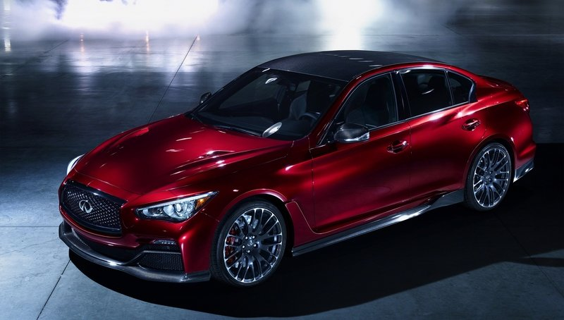 Win A Ride In The Infiniti Q50 Eau Rouge Prototype