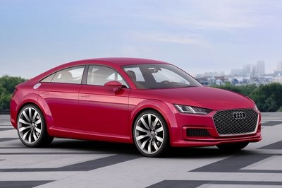 Audi revealed the TT Sportback ahead of its 2014 Paris Auto Show debut; do four doors really work on the TT?