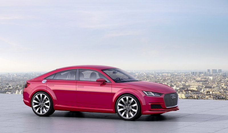 2014 Audi TT Sportback Concept High Resolution Exterior - image 570959