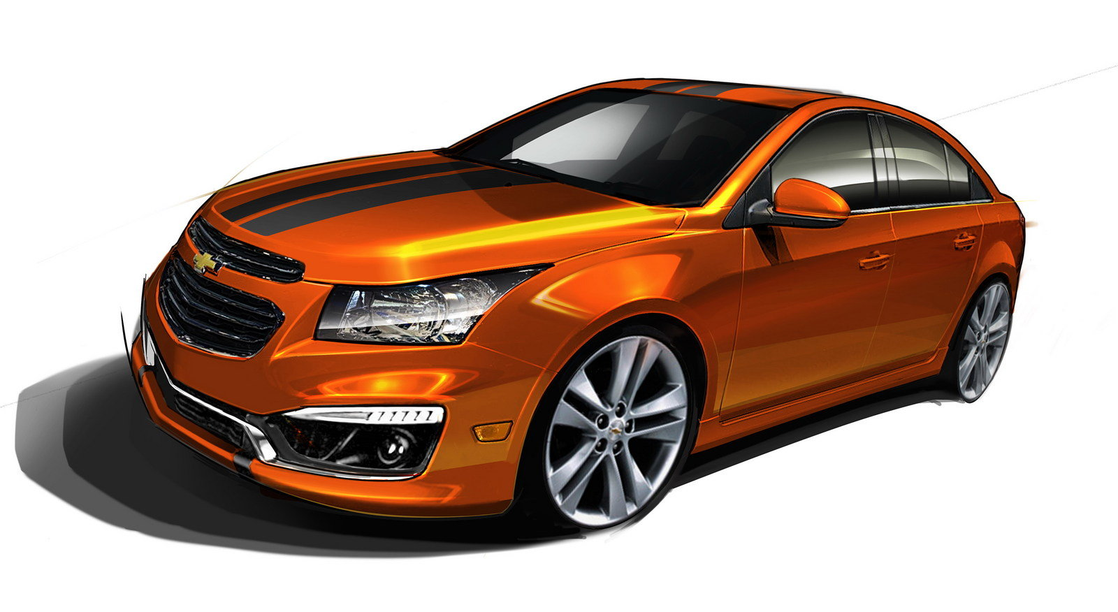 2014 chevrolet cruze rs plus concept review top speed. Black Bedroom Furniture Sets. Home Design Ideas