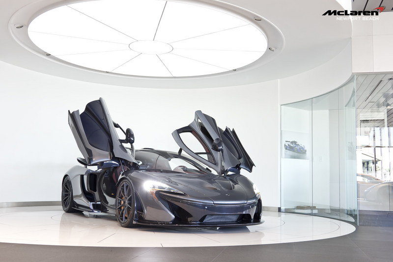 2014 McLaren P1 High Resolution Exterior - image 575519