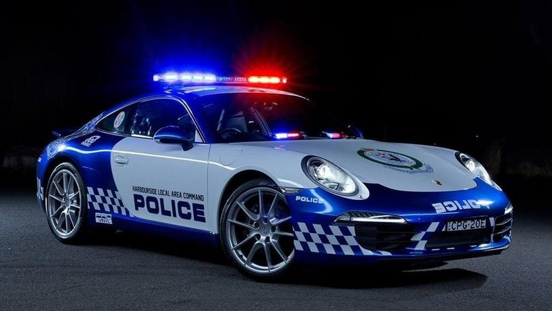 2014 Porsche 911 Carrera NSW Police Car