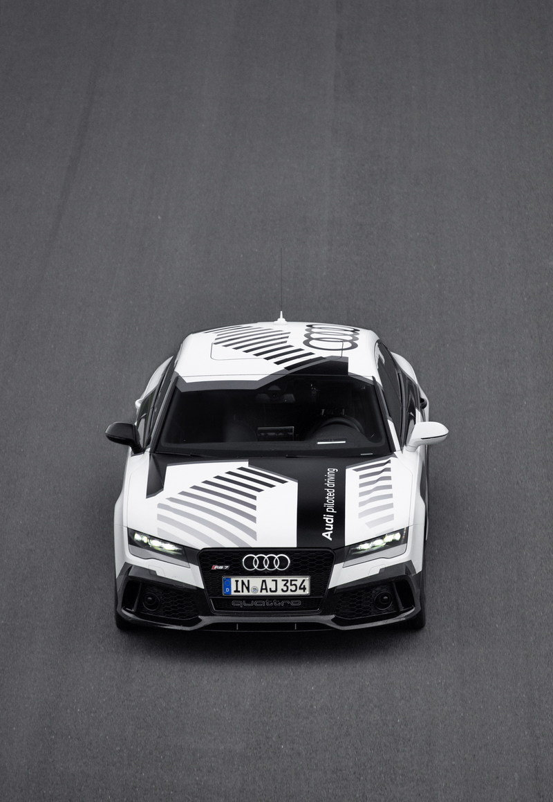 2015 Audi RS7 Piloted Driving Concept