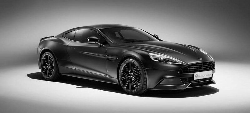 2015 Q By Aston Martin Vanquish Coupe Satin Jet Black