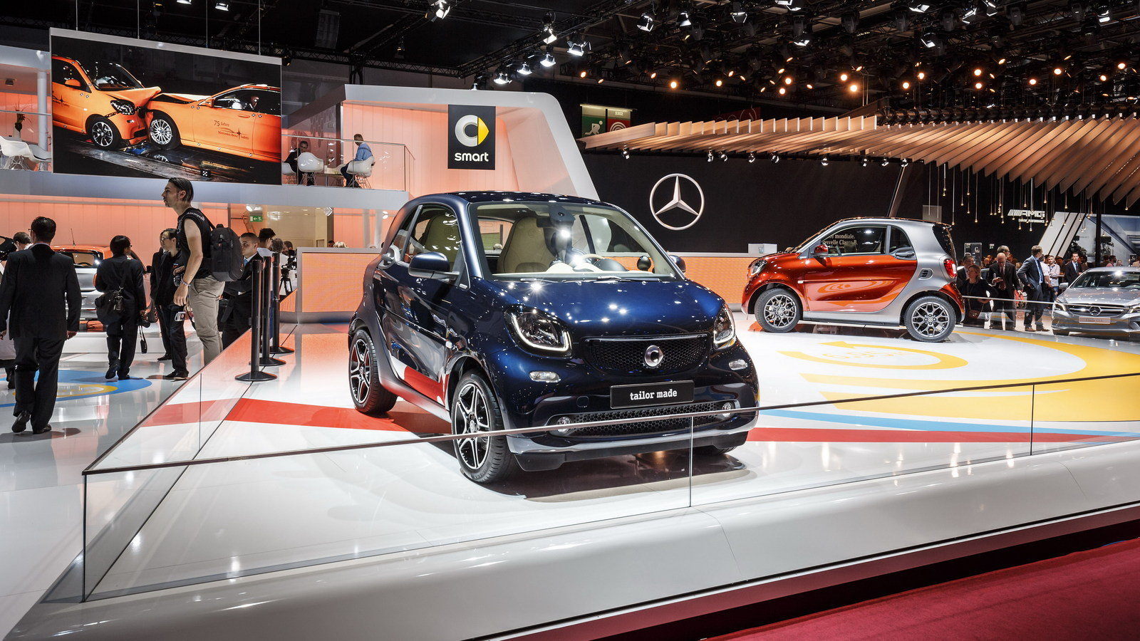 2015 smart fortwo brabus tailor made picture 571348. Black Bedroom Furniture Sets. Home Design Ideas