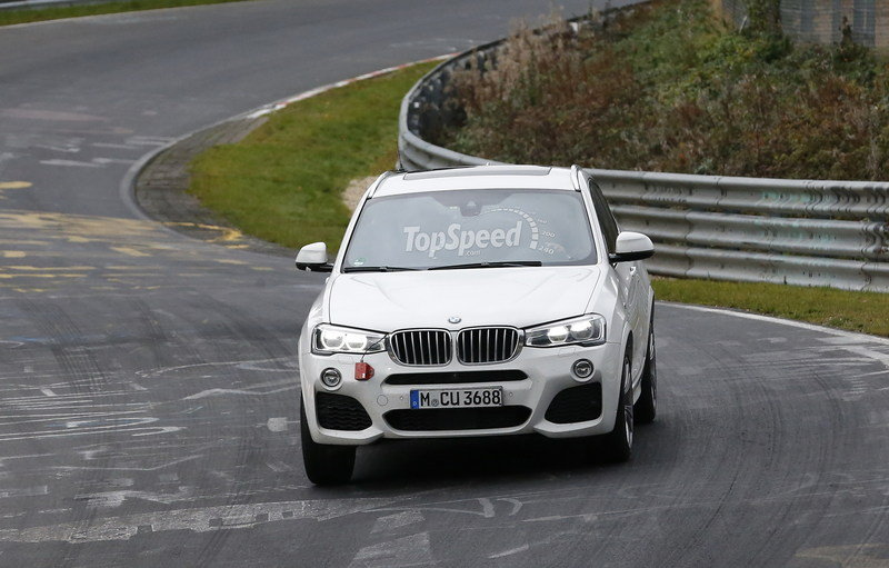 Spy Shots: 2016 BMW X4 M40i Caught Camo-Free