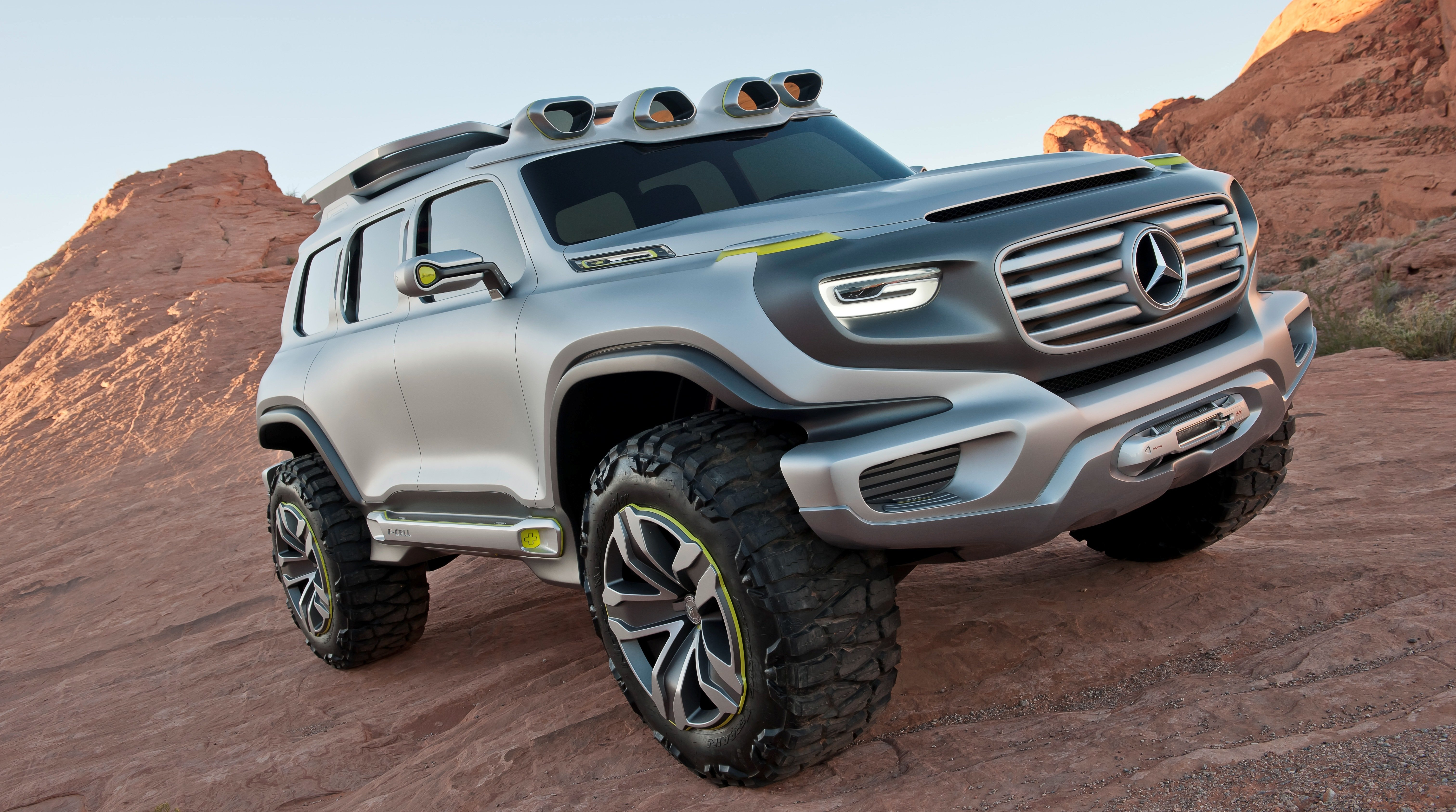 Mercedes is working on a baby G-Class; a smaller utility vehicle
