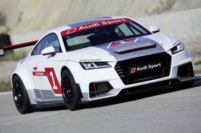The TT Coupe is heading into one-make racing with the new Audi Sport TT Cup race car.