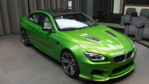 2014 Bmw M6 Gran Coupe Java Green Review Top Speed