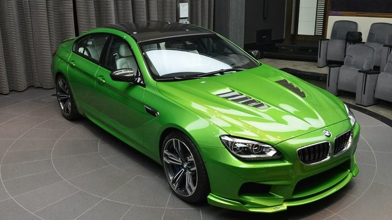 2014 BMW M6 Gran Coupe Java Green