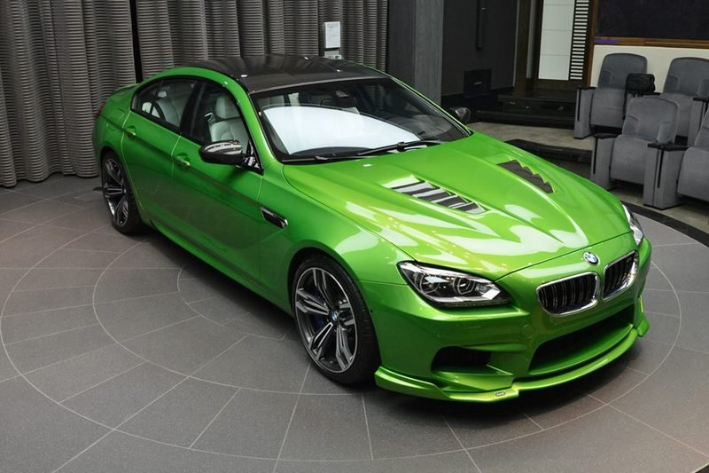2014 BMW M6 Gran Coupe Java Green | Top Speed