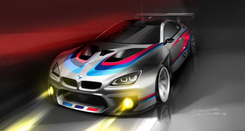 2016 BMW M6 GT3 Drawings - image 571803