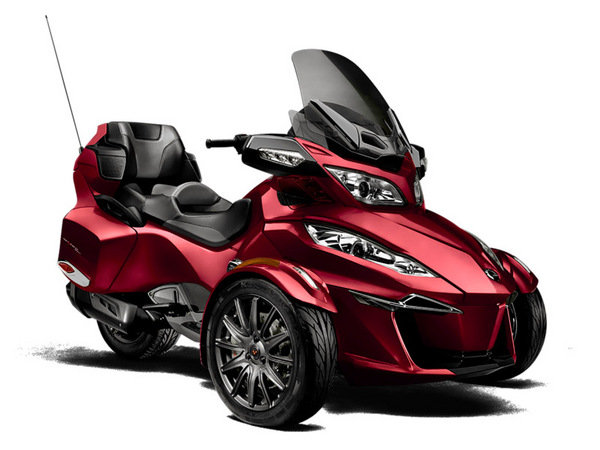 Spyder Motorcycle Price >> 2015 Can-Am Spyder RT-S Review - Top Speed