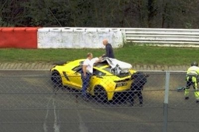 Chevrolet Corvette Z06 Crashes On The Nurburgring
