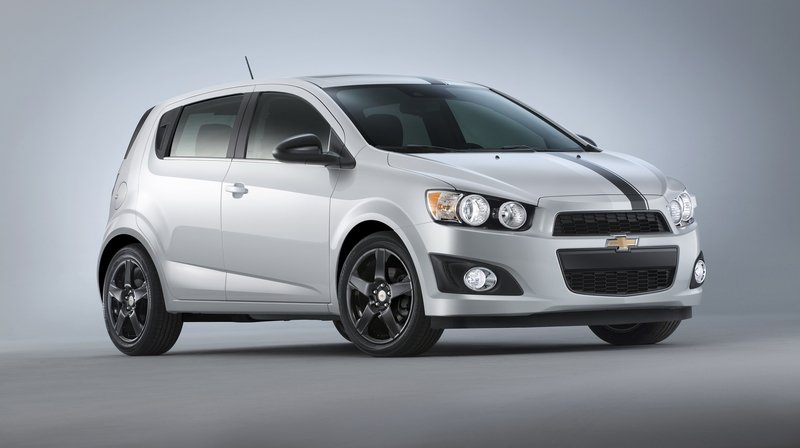 2015 Chevrolet Sonic Accessories Concept