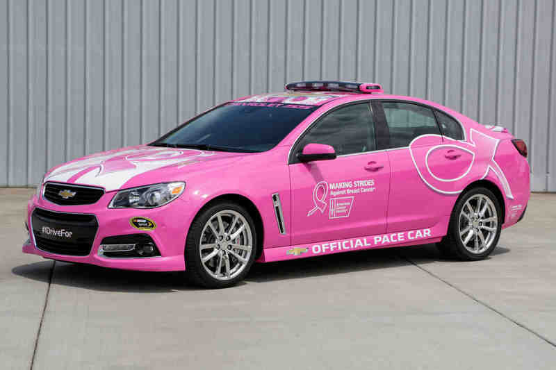2014 Chevrolet SS NASCAR Pace Car