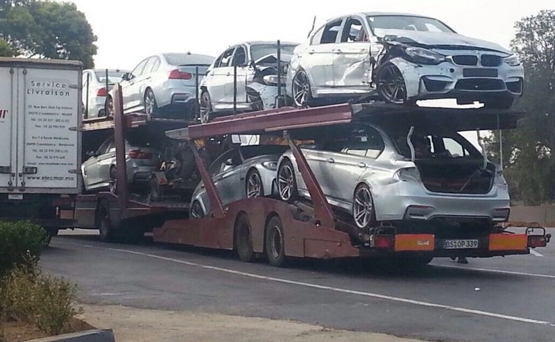"Dead BMW M3s Leave ""Mission: Impossible 5"" Set"