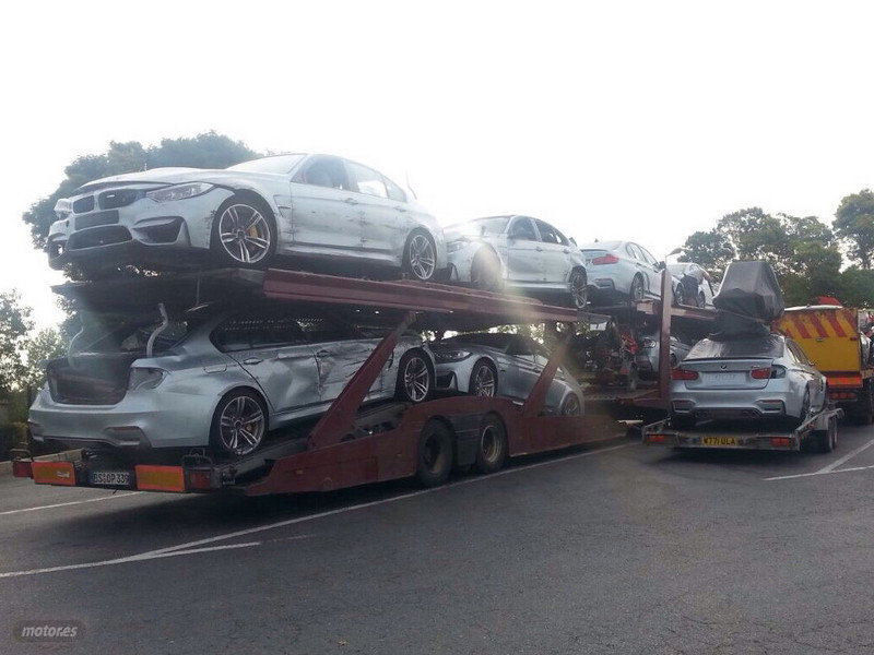 Dead BMW M3s Leave
