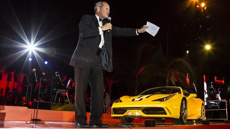 First Ferrari 458 Speciale A Sold for $900K at Auction