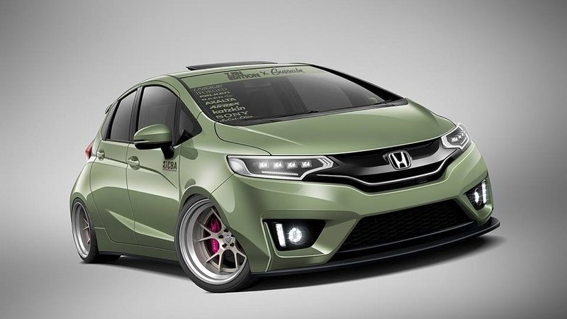 2015 Honda Fit Tjin Edition